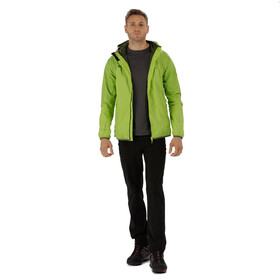Regatta Levin II Jacket Men Lime Green/Lime Green Reflective
